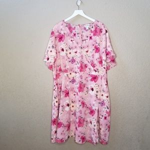 Ava and Viv floral dress with pockets size 3x